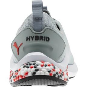 Thumbnail 3 of HYBRID NX Men's Running Shoes, Quarry-High Risk Red-White, medium