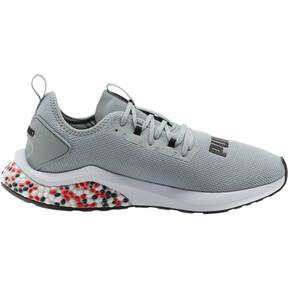 Thumbnail 4 of HYBRID NX Men's Running Shoes, Quarry-High Risk Red-White, medium