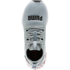 Thumbnail 5 of HYBRID NX Men's Running Shoes, Quarry-High Risk Red-White, medium