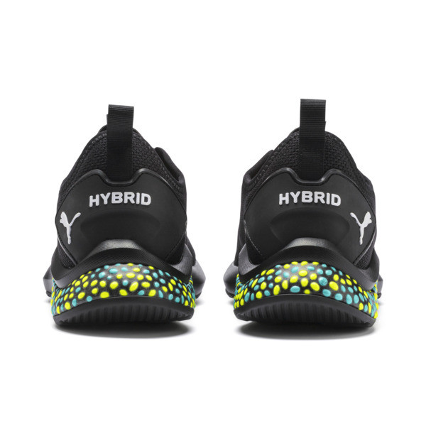 HYBRID NX Men's Running Shoes, Puma Black-Yellow Alert-Blue, large