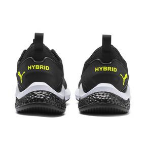 Miniatura 4 de Zapatos para correr HYBRID NX para hombre, Black-Nrgy Red-Yellow Alert, mediano