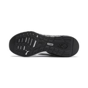 Miniatura 5 de Zapatos para correr HYBRID NX para hombre, Black-Nrgy Red-Yellow Alert, mediano