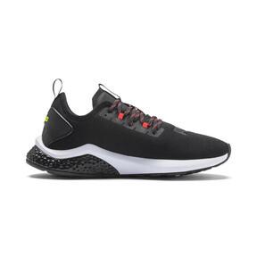 Miniatura 6 de Zapatos para correr HYBRID NX para hombre, Black-Nrgy Red-Yellow Alert, mediano