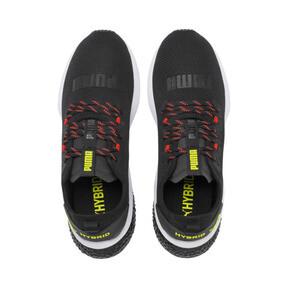 Miniatura 7 de Zapatos para correr HYBRID NX para hombre, Black-Nrgy Red-Yellow Alert, mediano