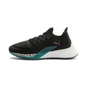 Thumbnail 1 of Xcelerator Running Shoes, Black-Glacier Gray-Ponderosa, medium