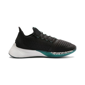 Thumbnail 6 of Xcelerator Running Shoes, Black-Glacier Gray-Ponderosa, medium