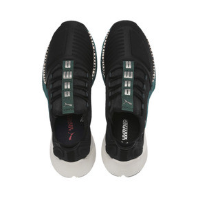 Thumbnail 7 of Xcelerator Running Shoes, Black-Glacier Gray-Ponderosa, medium