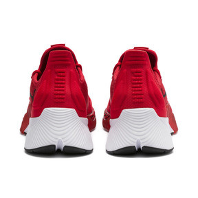 Thumbnail 3 of Xcelerator Running Shoes, High Risk Red-White-Black, medium