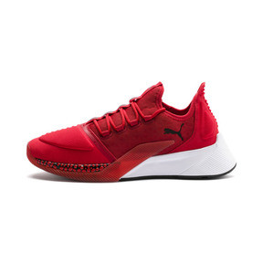 Thumbnail 1 of Xcelerator Running Shoes, High Risk Red-White-Black, medium