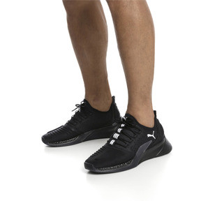 Thumbnail 2 of Xcelerator Running Shoes, Puma Black-Puma Black, medium