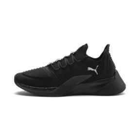 Thumbnail 1 of Xcelerator Running Shoes, Puma Black-Puma Black, medium