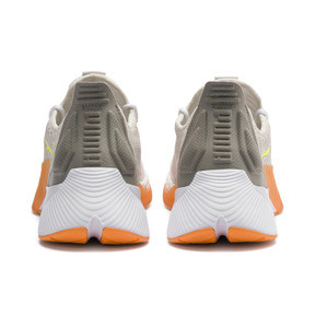 Thumbnail 3 of Xcelerator Daylight Running Shoes, White-VGray-Orange-Yellow, medium