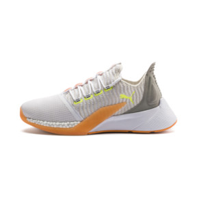 Thumbnail 1 of Xcelerator Daylight Running Shoes, White-VGray-Orange-Yellow, medium