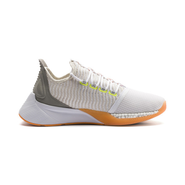 Xcelerator Daylight Running Shoes, White-VGray-Orange-Yellow, large