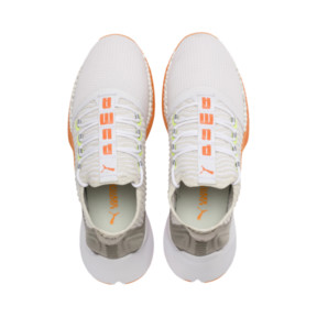 Thumbnail 6 of Xcelerator Daylight Running Shoes, White-VGray-Orange-Yellow, medium