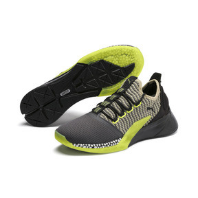 Thumbnail 2 of Xcelerator Daylight Running Shoes, Asphalt-Black-Elm-Yellow, medium