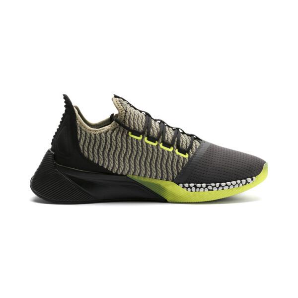 Xcelerator Daylight Running Shoes, Asphalt-Black-Elm-Yellow, large