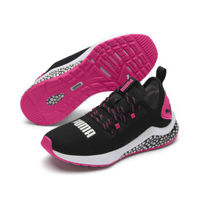 Thumbnail 3 of HYBRID NX Women's Running Shoes, Puma Black-Fuchsia Purple, medium