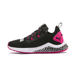 Thumbnail 1 of HYBRID NX Women's Running Shoes, Puma Black-Fuchsia Purple, medium