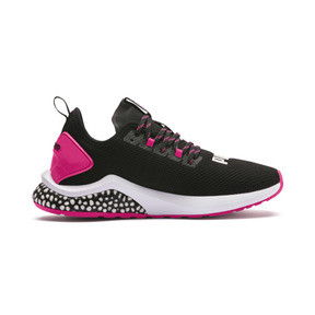 Thumbnail 6 of HYBRID NX Women's Running Shoes, Puma Black-Fuchsia Purple, medium