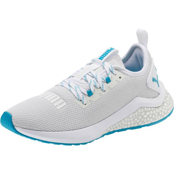 HYBRID NX Women's Running Shoes, Puma White-Caribbean Sea, large
