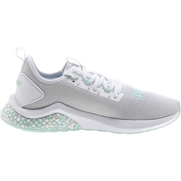 HYBRID NX Women's Running Shoes, Puma White-Fair Aqua, large