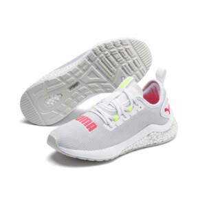 Miniatura 3 de Zapatos para correr HYBRID NX para mujer, Puma White-Pink Alert, mediano