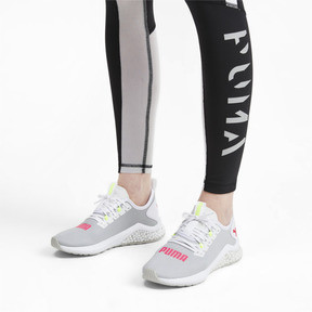 Miniatura 2 de Zapatos para correr HYBRID NX para mujer, Puma White-Pink Alert, mediano