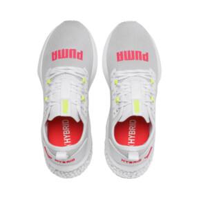 Miniatura 7 de Zapatos para correr HYBRID NX para mujer, Puma White-Pink Alert, mediano