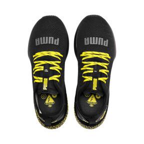 Thumbnail 6 of HYBRID NX Caution Men's Running Shoes, Puma Black-Blazing Yellow, medium