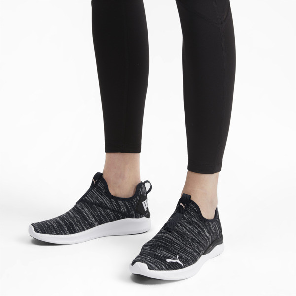IGNITE Flash Summer Slip Women's Training Shoes, Puma Black-Puma White, large