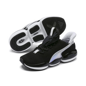 Thumbnail 3 of Mode XT Trailblazer Iridescent Women's Training Shoes, Puma Black-Puma White, medium
