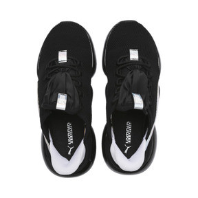 Thumbnail 7 of Mode XT Iridescent Trailblazer Women's Trainers, Puma Black-Puma White, medium