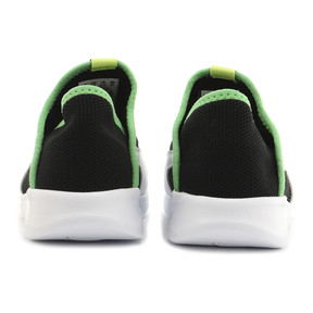 Thumbnail 3 of キッズ プーマ バオ 3 ソック PS 17-21cm, Puma Black-White-Irish Green, medium-JPN