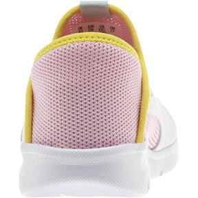 Thumbnail 3 of Puma Bao 3 Sock Shoe Little Kids', Pale Pink-White-Blazi Yellow, medium