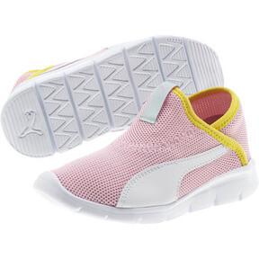 Thumbnail 2 of Puma Bao 3 Sock Shoe Little Kids', Pale Pink-White-Blazi Yellow, medium