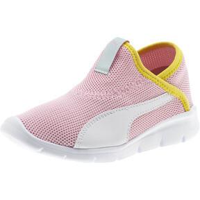 Thumbnail 1 of Puma Bao 3 Sock Shoe Little Kids', Pale Pink-White-Blazi Yellow, medium