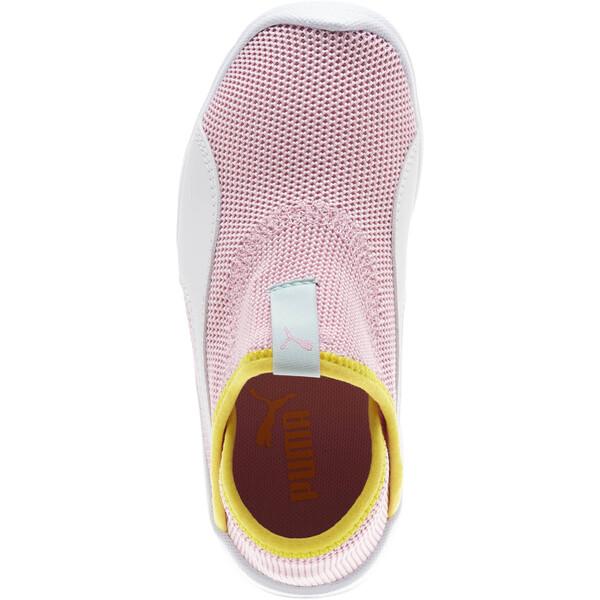 Puma Bao 3 Sock Shoe Little Kids', Pale Pink-White-Blazi Yellow, large