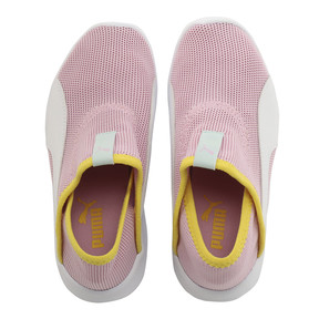 Thumbnail 6 of キッズ プーマ バオ 3 ソック PS (17-21cm), Pale Pink-White-Blazi Yellow, medium-JPN
