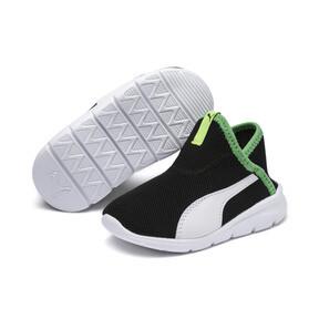 Thumbnail 2 of ベビー プーマ バオ 3 ソック (12-16cm), Black-White-Irish Green, medium-JPN