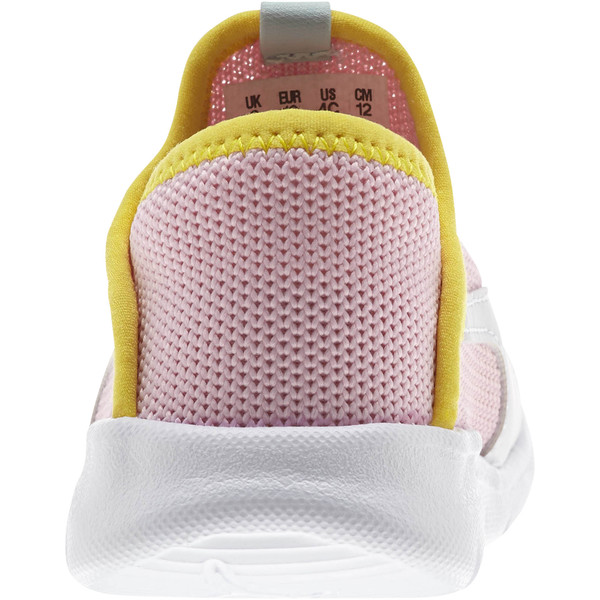 Bao 3 Sock Toddler Shoes, Pale Pink-Puma White-, large