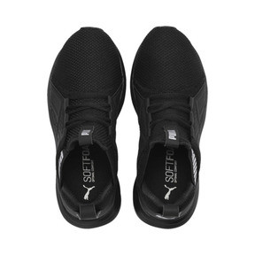 Thumbnail 6 of Enzo Weave Kids' Running Shoes, Puma Black-Puma Silver, medium