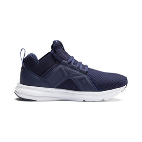 Thumbnail 5 of Enzo Weave Sneakers JR, Peacoat- Silver-Puma White, medium