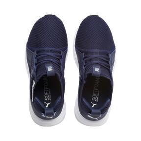 Thumbnail 6 of Enzo Weave Sneakers JR, Peacoat- Silver-Puma White, medium