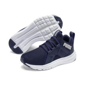 Thumbnail 2 of Enzo Weave AC Sneakers PS, Peacoat - Silver-Puma White, medium