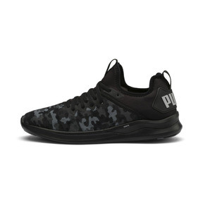 Thumbnail 1 of IGNITE Flash Camouflage Men's Running Shoes, Black-Asphalt-Quarry, medium