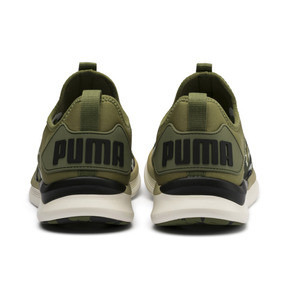 Thumbnail 3 of Chaussure de course IGNITE Flash Camouflage pour homme, Olivine-Black-Whisper White, medium