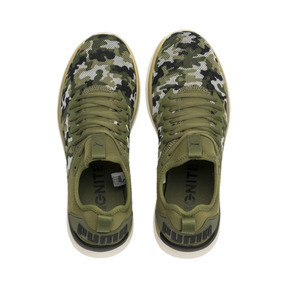 Thumbnail 6 of IGNITE Flash Camouflage Men's Running Shoes, Olivine-Black-Whisper White, medium