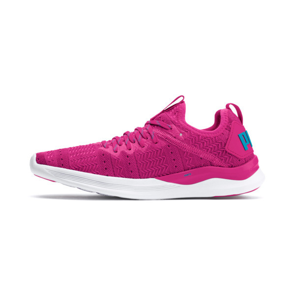 IGNITE Flash Iridescent Trailblazer Women's Running Shoes, Fuchsia Purple-Caribbean Sea, large