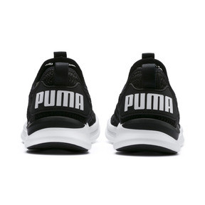 Thumbnail 4 of IGNITE Flash Iridescent Trailblazer Women's Running Shoes, Puma Black-Puma White, medium